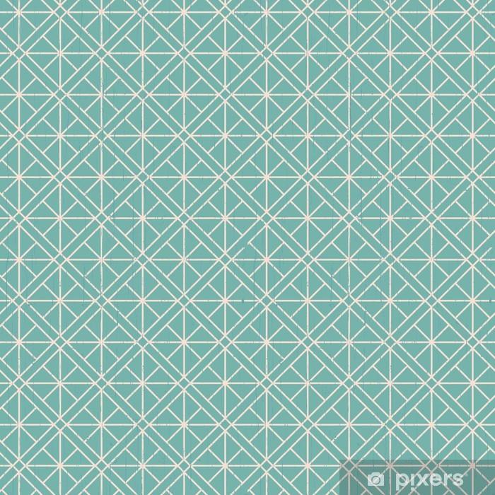 Alfombrilla de baño Sin costuras entrelazadas malla patrón geométrico - Estilos