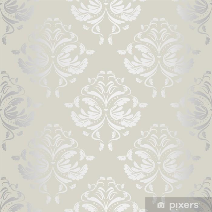 Naklejka Pixerstick Bezszwowe tło wallpaper.damask pattern.floral - Tematy
