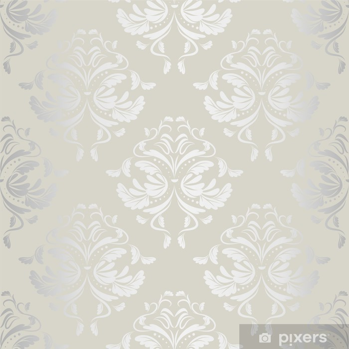 seamless wallpaper.damask pattern.floral background Vinyl Wall Mural - Themes