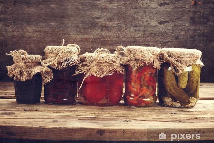 Papier peint vinyle Jars - Pour cuisine