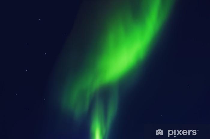Vinyl-Fototapete Das Nordlicht - Naturwunder