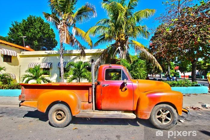 Fotomural Estándar Coche viejo de Cuba - Temas
