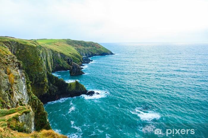 Irish landscape. coastline atlantic coast County Cork, Ireland Pixerstick Sticker - Themes