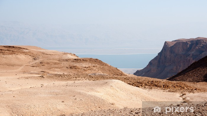 Vinyl Fotobehang Judean steenwoestijn - Midden Oosten