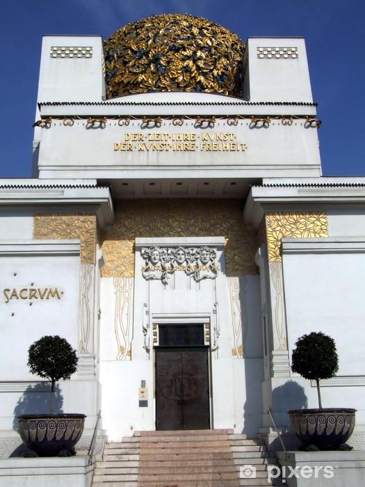 Naklejka Pixerstick Secesji w Wiedniu - Budynki użyteczności publicznej