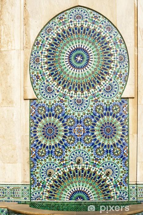 Fototapete marokkanische dekoration hassan ii moschee in casablanca marokko pixers wir for Marokkanische dekoration