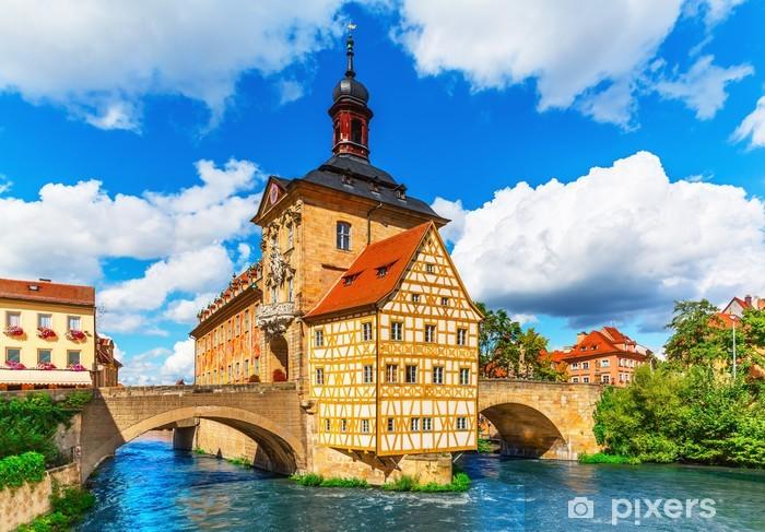Fotomural Estándar Ayuntamiento en Bamberg, Alemania - Alemania