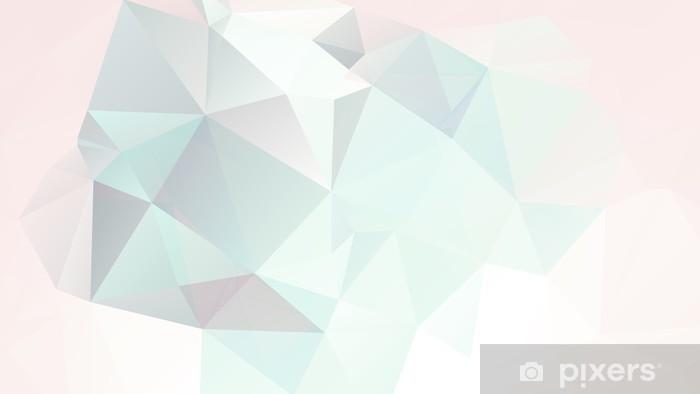 Fotomural Estándar Fondo geométrico suave en colores pastel abstracto con degradados vector - Estilos