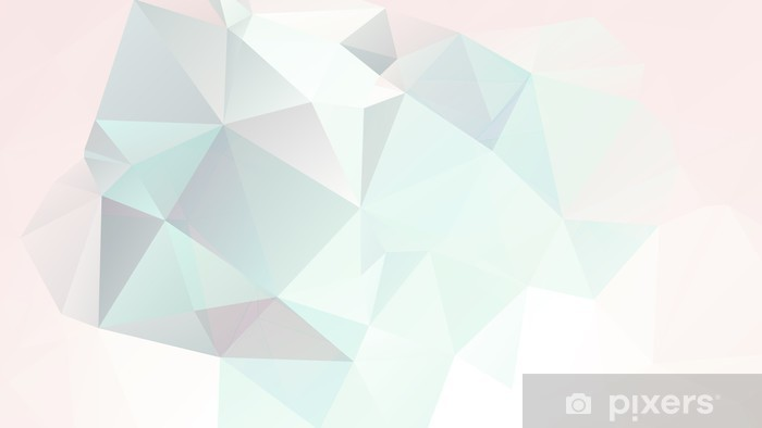 soft pastel abstract geometric background with gradients vector Vinyl Wall Mural - Styles