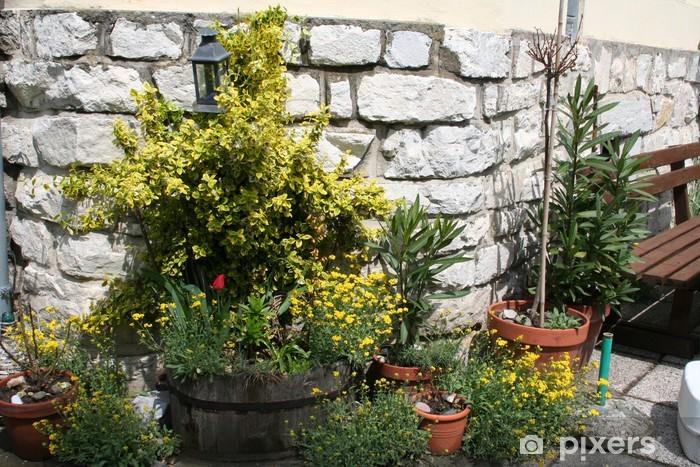 Naklejka Pixerstick Kletterpflanze - Rośliny