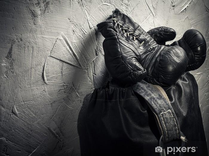 Fotomural Estándar Los guantes de boxeo viejos - Temas