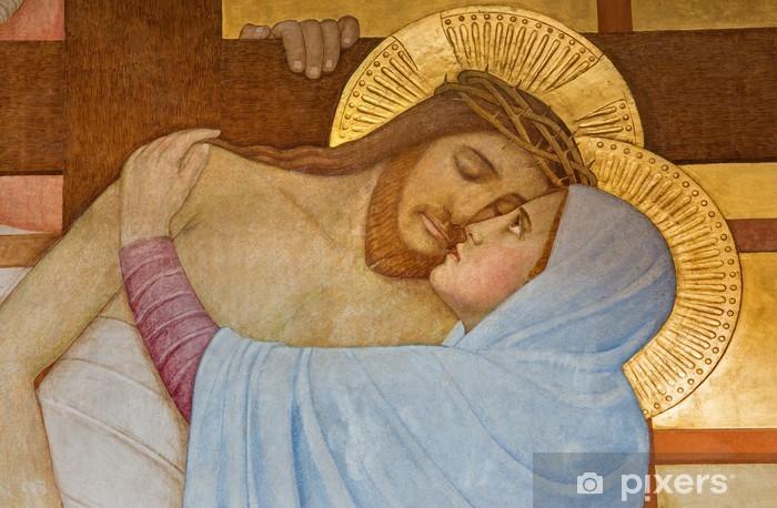 Fototapeta winylowa Wiedeń - Osadzanie krzyża w kościele karmelitów - Tematy