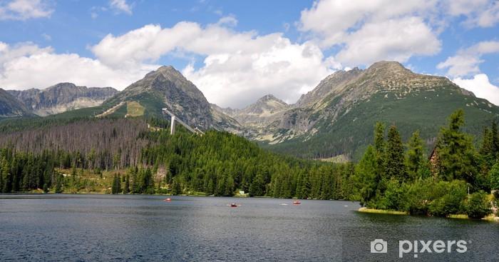 Sticker Pixerstick Strbske Pleso, Hautes Tatras, en Slovaquie, en Europe - Thèmes