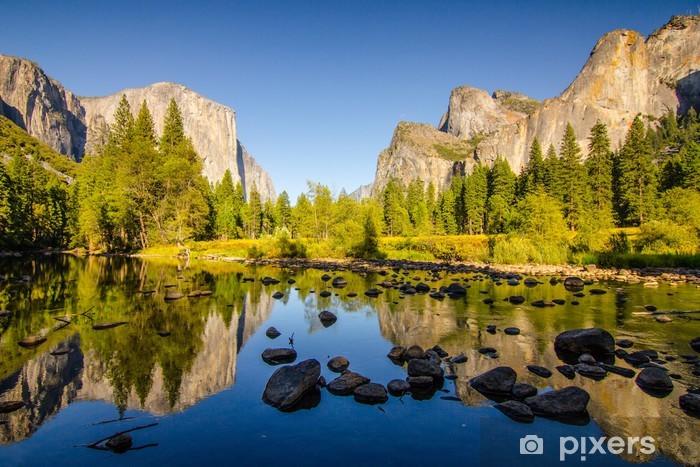 Fototapet av Vinyl Yosemite - Teman