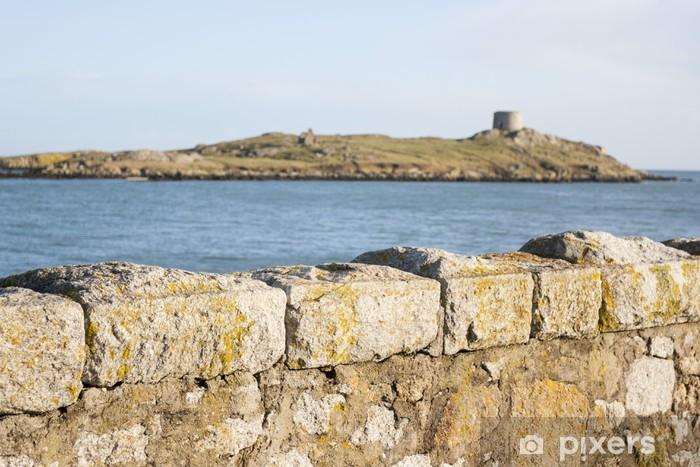 Vinyl Fotobehang Uitzicht op een klein eiland - Monumenten