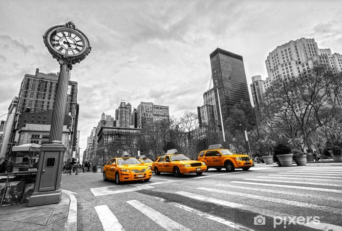 Sticker Pixerstick Unis New York City -