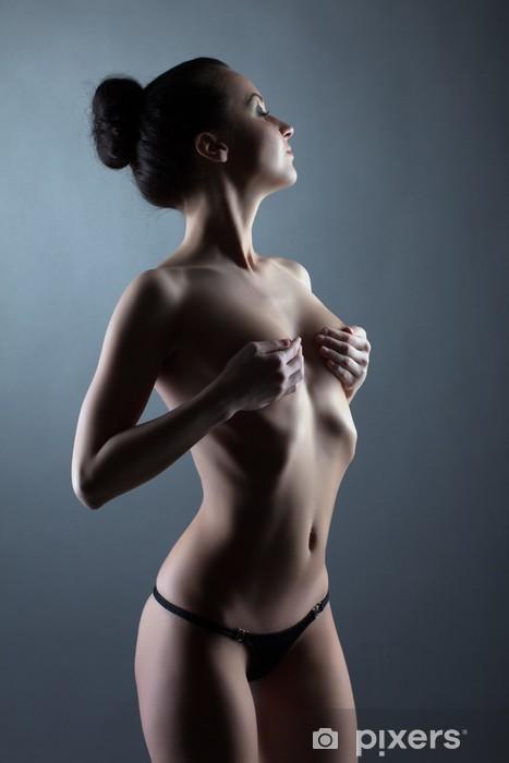 černá horká nahá