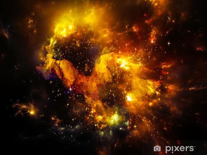 Afwasbaar Fotobehang Diepte van Nebula - Heelal