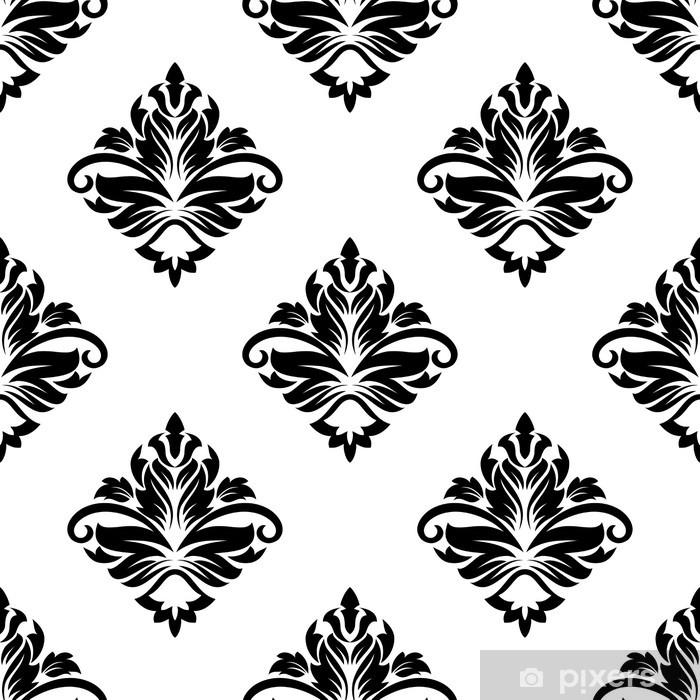 Nálepka Pixerstick Geometrický vzor arabeska s květinovým motivem - Styly