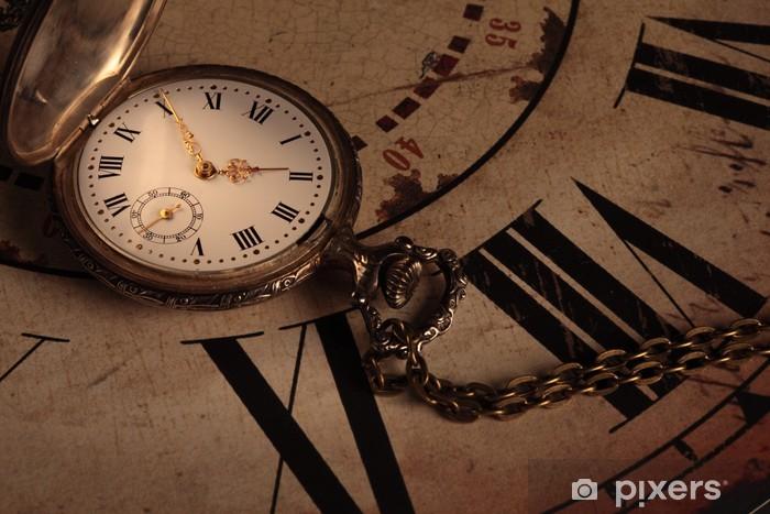 Fototapeta winylowa Vintage zegar - Zegary