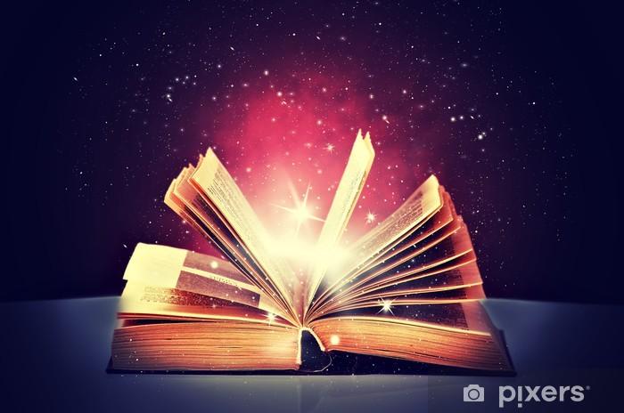 Fotomural Abierto libro mágico • Pixers® - Vivimos para cambiar