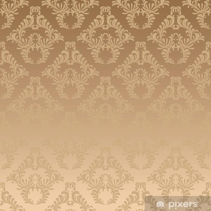 Sticker pour table et bureau Damassé d'or de fond - Arrière plans