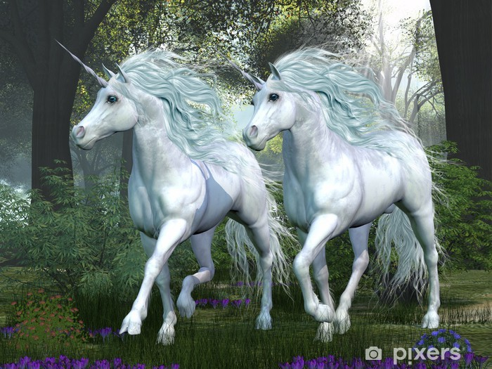 Unicorn Elm Forest Bord og skrivbordfiner -