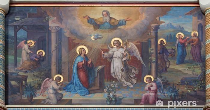 Fototapeta winylowa Wiedeń - kościół Zwiastowania świeże karmelici - Tematy