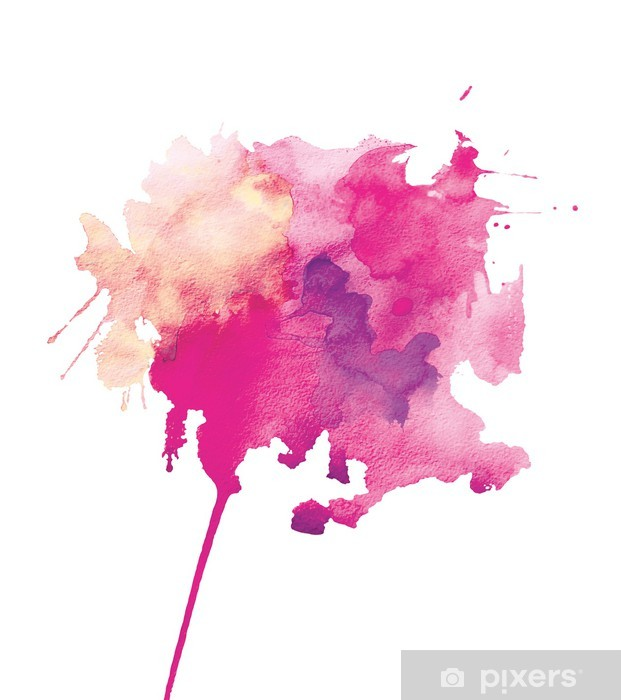 Papier peint vinyle Aquarelle abstraction - Art et création