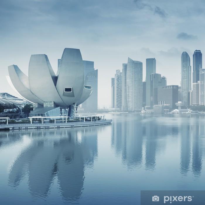 Singapore Skyline Poster - Asian Cities