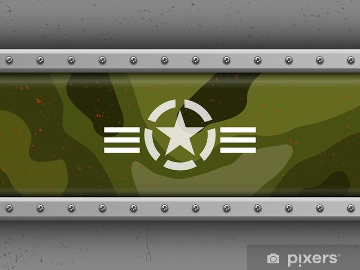 Vinylová fototapeta Vojenské pozadí - Vinylová fototapeta