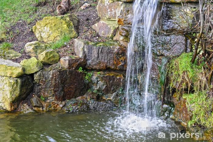 Naklejka Pixerstick Mini wodospad - Woda