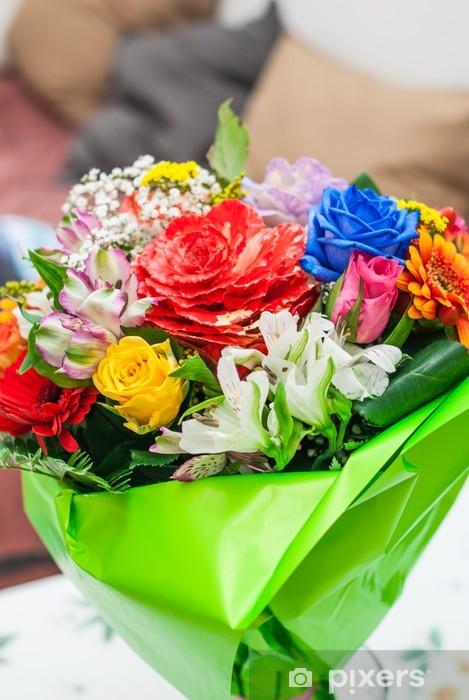 Mazzo Di Fiori Tanti Auguri.Carta Da Parati Mazzo Di Fiori Bouquet Auguri Pixers Viviamo
