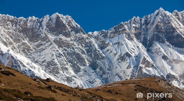 Fototapeta winylowa Piękny krajobraz gór Himalajów - Tematy