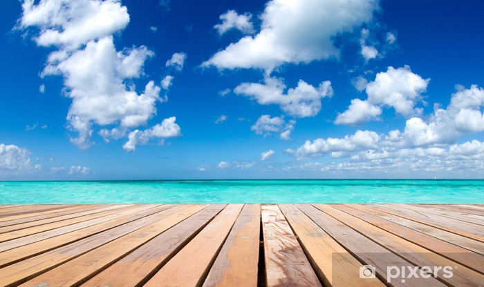Fototapeta winylowa Tropikalnego morza - Woda