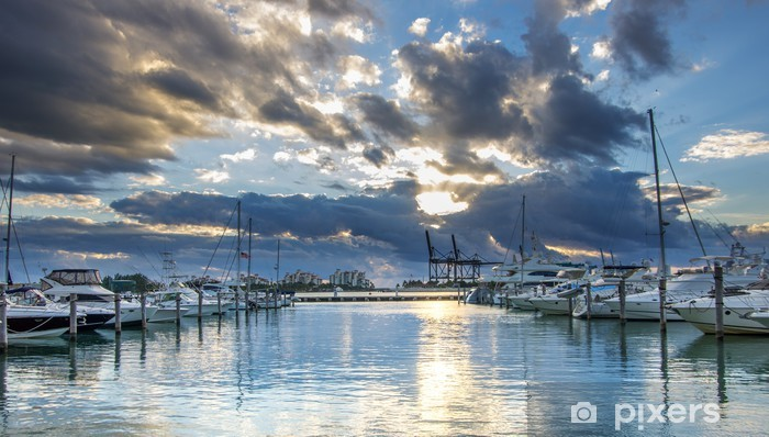 Fototapeta winylowa South Beach Miami - Ameryka Południowa
