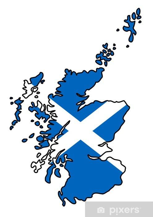 Cartina Stradale Della Scozia.Carta Da Parati Schema Di Scozia Riempito Con Bandiera Scozzese Pixers Viviamo Per Il Cambiamento