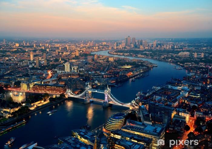 Fototapeta winylowa Londyn noc -