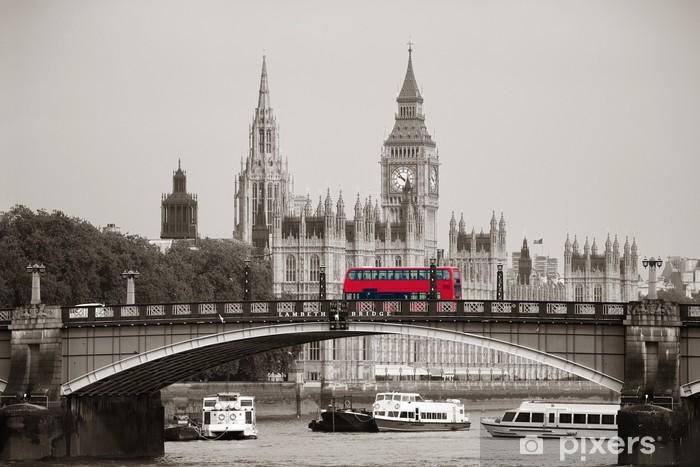 Fototapeta winylowa Londyn -