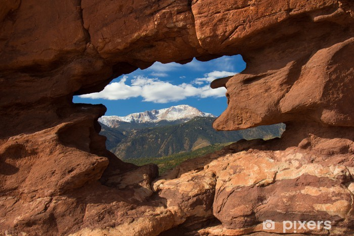 Fototapeta winylowa Pikes Peak - Cuda natury