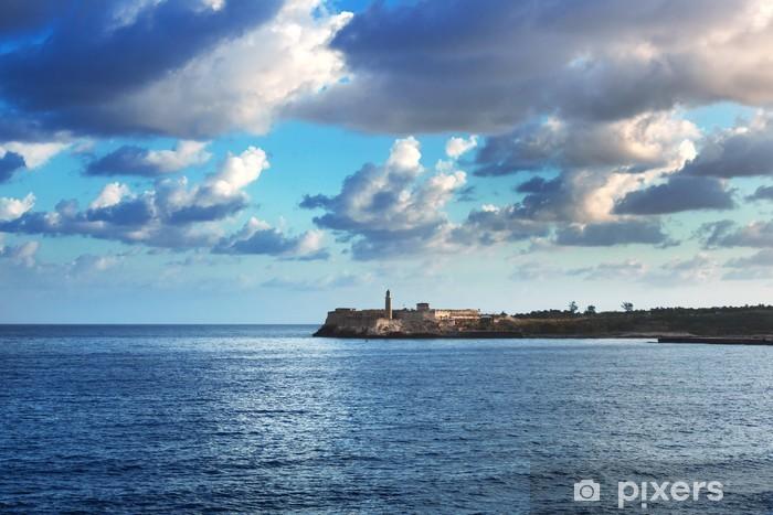 Vinil Duvar Resmi Castillo del Morro -