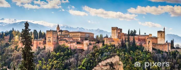 Fototapeta winylowa Znane Alhambra w Granadzie, Andaluzja, Hiszpania - Tematy