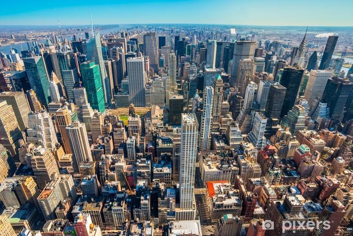 Nálepka Pixerstick Manhattan, New York City. USA. - Americká města