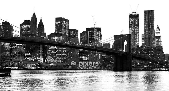 Adesivo da Parete Manhattan, New York City. Stati Uniti d'America. - Stili