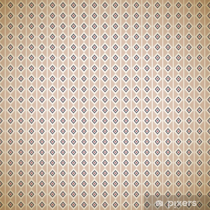 Vintage different vector pattern (tiling). Endless texture Vinyl Wall Mural - Backgrounds