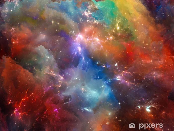 Vinilo Pixerstick Nebulosa Colores - Temas