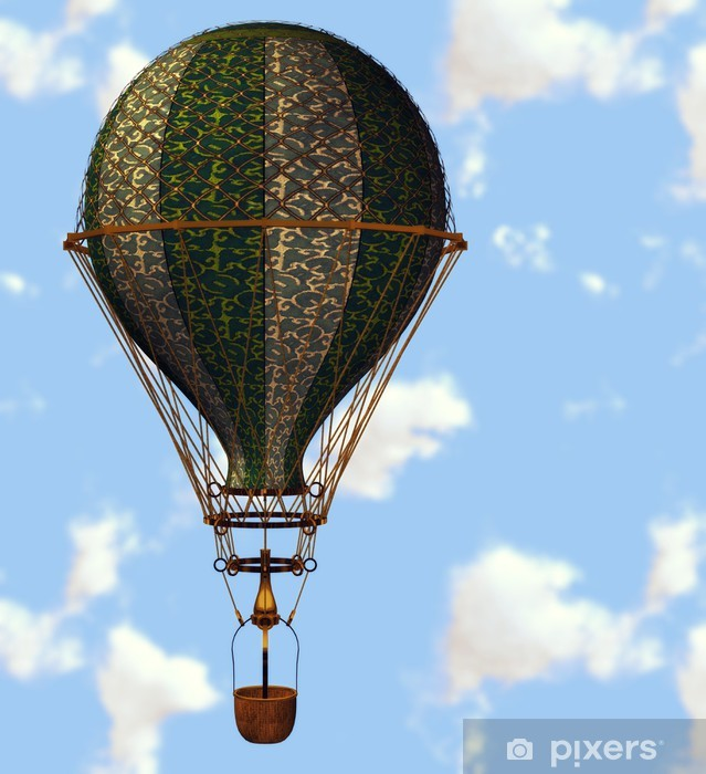 Vinyl-Fototapete Fliegende Luftballons - Nationale Ereignisse