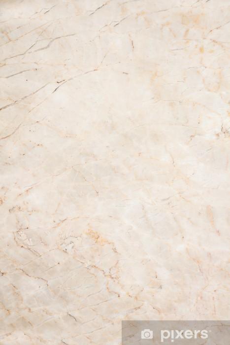 Vinilo para Nevera Sin fisuras suave textura de mármol color beige - Fondos
