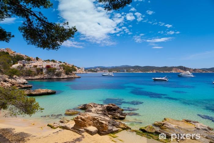 Fototapeta winylowa Cala Fornells Zobacz w Paguera, Majorka - Europa