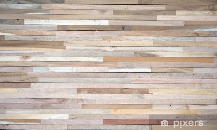 Sticker Pixerstick Wood wall - iStaging